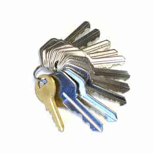 Most financial companies will ask for keys as collateral for a title loan.